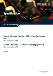 Music Technology Specification